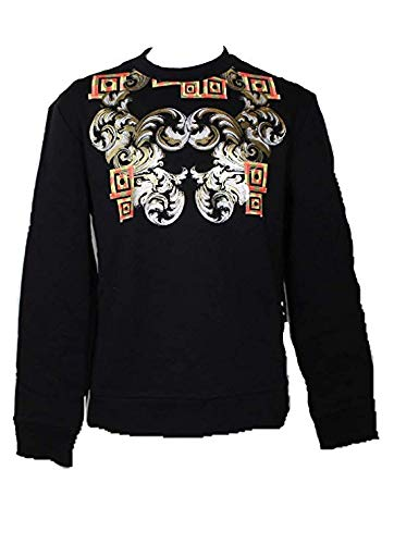 0a3c7dc3d05 Versace Collection - Sweat-Shirt - Homme Nero+Stampa - - Large