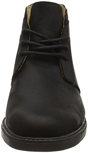 Turner Leather Wp Chukka Herren Black Boots Sebago Schwarz p4wa564q