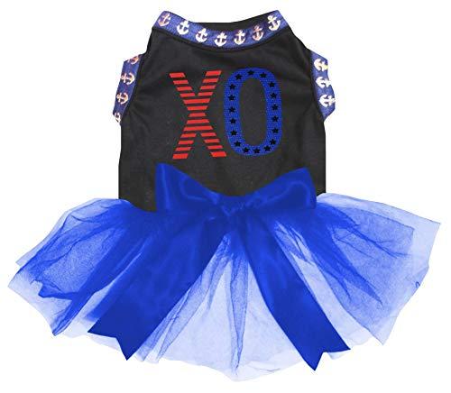 Petitebelle USA XO Shirt Tutu Welpen Kleid