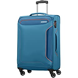 American Tourister Holiday Heat Spinner 67/24, 66 L - 3.2 KG Equipaje de Mano, 67 cm, Liters, Azul (Denim Blue)