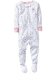 Carter's Baby Girls' 1 Piece Cotton Printed Footie (Baby) - Cherry - 12 Months Color: Cherry Size: 12 Months (Baby/Babe/Infant - Little ones)