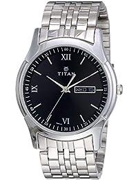 Titan Karishma Analog Black Dial Men's Watch NM1636SM01 / NL1636SM01