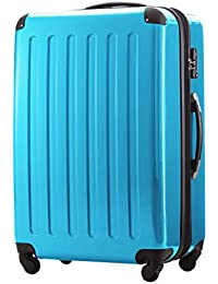 HAUPTSTADTKOFFER - Alex - Hand Luggage On-Board Set of 3 Hard-side Luggages Trolley Hardside Suitcase, (S, M & L)