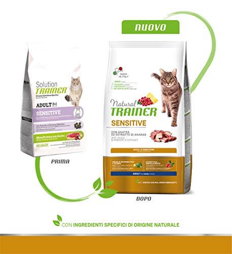 Multicolore Natural Trainer Trainer Natural con Manzo 1,5kg-Mangimi secchi per Gatti crocchette Unica