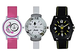 Volga Lovely Men's Watch with a classic combo of Frida For Boys and Girls