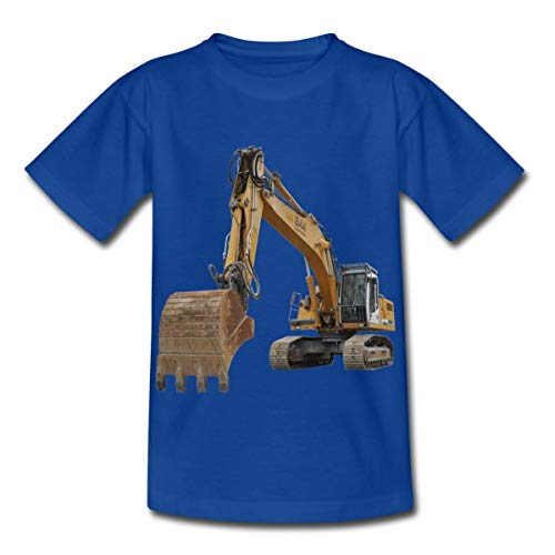 Spreadshirt Bagger Kinder T-Shirt, 98/104 (3-4 Jahre), Royalblau - Kleinkind-t-shirt Klassiker
