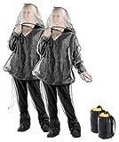 infactory Ganzkörper Moskitonetz: 2er-Set Anti-Zecken-Schutzanzug, Ganzkörperschutz gegen Insekten (Insekten- & Moskito- Schutzanzug)