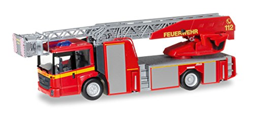 Herpa 092777 - Mercedes-Benz Econic Metz Drehleiter L32 XS Feuerwehr