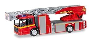 """Herpa 92777 """"Mercedes-Benz Econic Camión de Bomberos con Escalera giratoria L32 Fire Department Modelo Set, XS"""