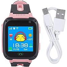 Reloj para niños - Reloj Inteligente para niños, Reloj Anti-perdido del rastreador GPS