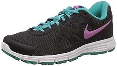 Nike Women's Revolution 2 Msl Anthracite,Light Magenta,Black,Hyper Jade  Running Shoes - 5 UK/India (38 EU)(5.5 US)