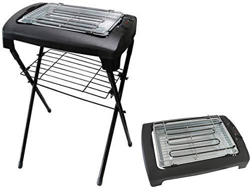 Kynast Tisch-Standgrill elektrisch mit Ständer 2000W schwarz