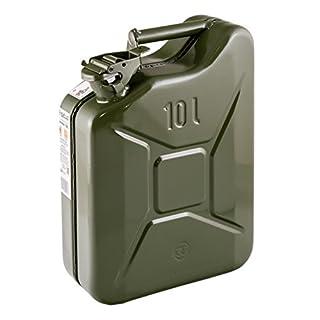 IWH 73856 Kraftstoffkanister, Stahlblech, olivgrn, 10 l