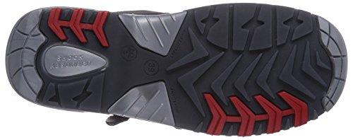 MTS M-Gecko Vento S1P Flex ÜK 41180 Unisex-Erwachsene Sicherheitsschuhe Schwarz (Schwarz)