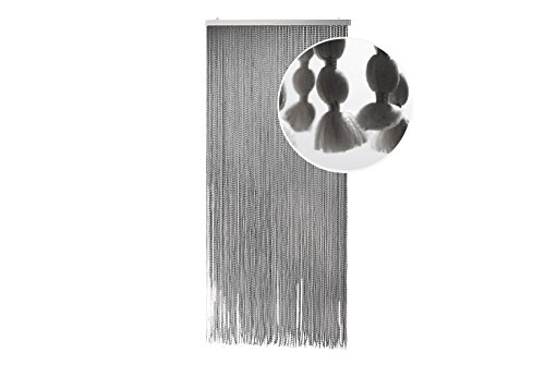 Kobolo Flauschvorhang Türvorhang BonBon Vorhang Fadenvorhang Gardine