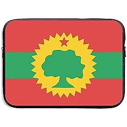 Drapeau de l'Oromo Liberation Front Etanche Ordinateur Portable Portable Housses