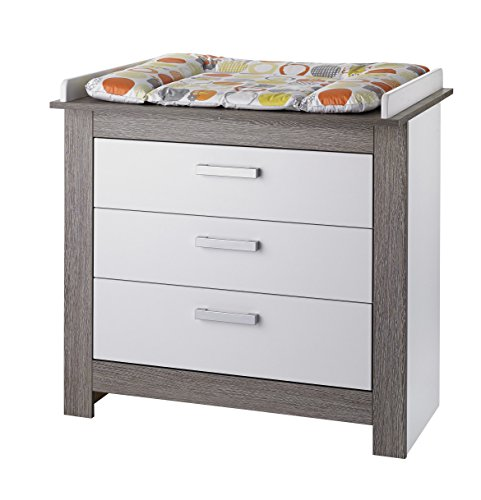 GEUTHER - Mueble cambiador Marlene, color wengué de color blanco