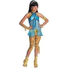 Rubbies - Disfraz de picapiedra para mujer, talla 7-9 años (VZ-