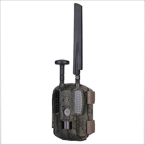ZNHL 4G-Jagdkamera mit GPS1080P-Video-HD-Kamera Überwachung Infrarot-Außenfahrkamera Lange Standby-Bild Echtzeitübertragung Infrarot-trail-kameras