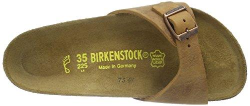 Birkenstock Classic MADRID Unisex-Erwachsene Pantoletten Braun (ANTIK BRAUN)