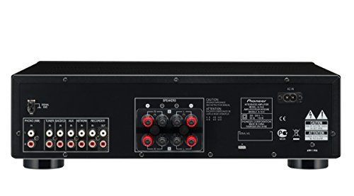Pioneer A-10-K - Amplificador estéreo con Direct Energy Design, Negro
