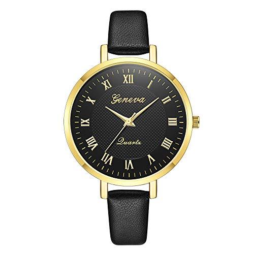f11bbc0f4291 Bestow Gemius Army Racing Force Geneva Correa Reloj Militar Deporte Mens  Tela Banda Reloj Negro(