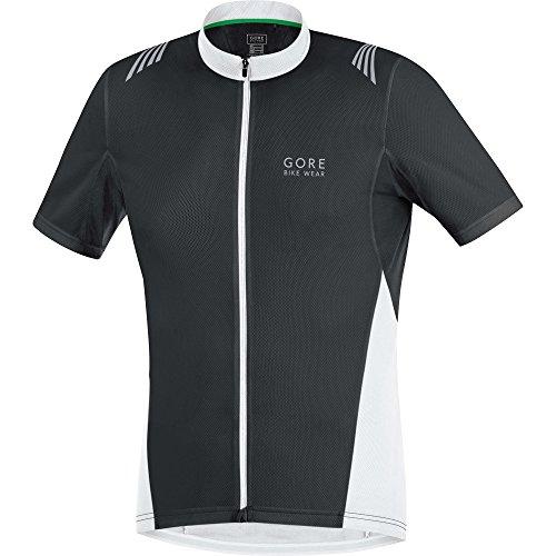 Gore Bike Wear Selefz Element Full-Zip Maglia, Uomo, Nero (Black/White),