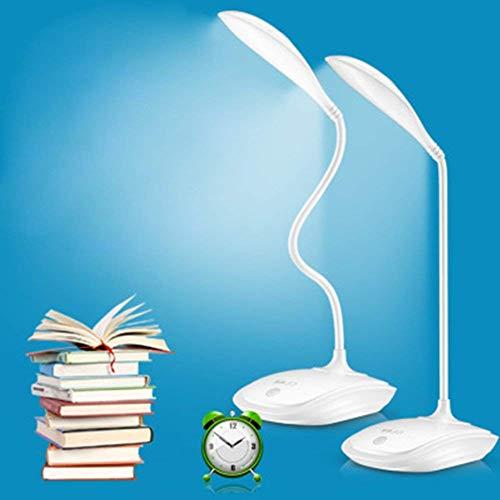 Lámpara de escritorio con sensor LED, de Gezichta, USB, sin cable, luz de lectura para mesas, recargable...