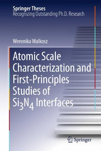 Atomic Scale Characterization and First-Principles Studies of SiN Interfaces (Springer Theses)