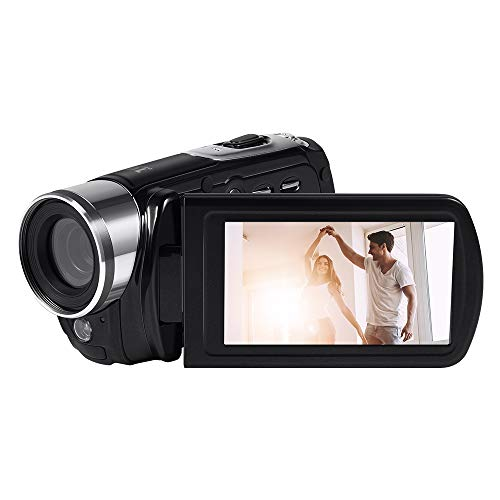 Hoyxel digitale videocamera EG18Full HD 1080p 24m Zoom digitale video camera con visione notturna a infrarossi/telecomando/16x Zoom/anti-shake/Face Detect
