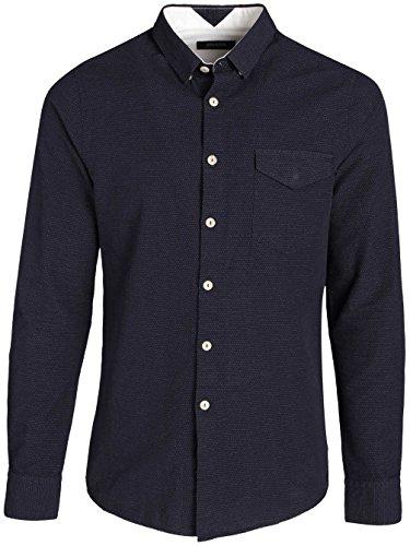 Herren Hemd lang Volcom Wls Hemd Midnight Blue
