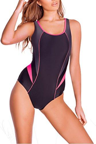 nexi-alina-maillot-de-bain-pour-femme-46-schwarz-grau-rosa