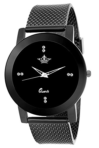 Swisso Sws-0133 Black Dial Exclusive Design Analogue Watch for Women & Girls
