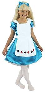 I Love Fancy Dress. ilfd7006s Niñas Disfraces De Alice (Pequeño)