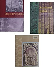 OLD NCERT BOOKS - 1) Ancient India- R.S. SHARMA (CLASS-11), 2) Medieval India - SATISH CHANDRA (CLASS-11), 3)