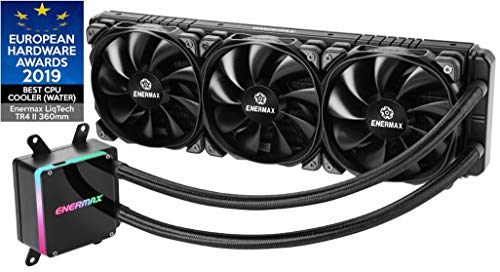 Refroidisseur pour Processeur AIO Enermax LiqTech TR4 II avec waterblock RGB (ELC-LTTRTO360-TBP) Exclusif AMD Threadripper