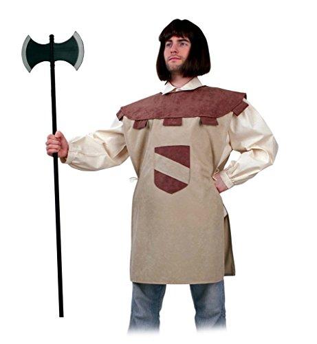 Kostüm -Überwurf- Sigurd Karneval, Fasching, Mottoparty Burg Ritter Wikinger Nordmann (XXL) (Ritter Auf Pferd Kostüm)
