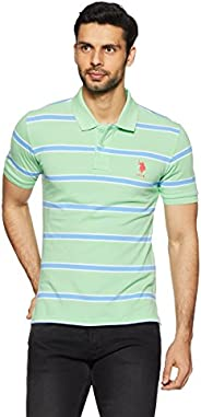 US Polo Association Men's Striped Regular Fit