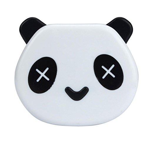 Caso Panda di colore della caramella lenti a contatto Box Per Kit Occhi Cura,Fami - 16 Art Outdoor Tela