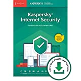 Kaspersky Internet Security 2019 Standard | 1 Gerät | 1 Jahr | Windows/Mac/Android | Online-Code | Download