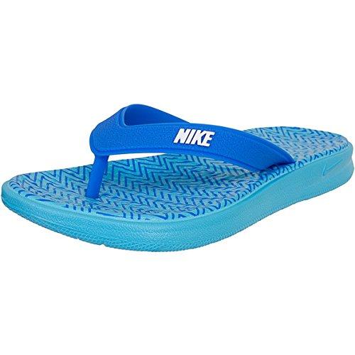 Nike Solay Thong Print Women Flip Flops 882696 (39 EU, blau/weiß)