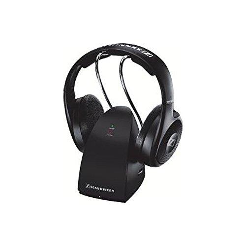 Sennheiser RS 118-8 Schwarz Ohraufliegend Kopfband - Kopfhörer (Ohraufliegend, Kopfband, Verkabelt & Kabellos, 22-18500 Hz, 104 dB, Schwarz)