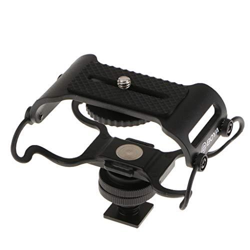 kesoto Supporto Antiurto Per Microfono Per Registratori Zoom H4n / H5 / H6 / H1, Tascam DR-40 / DR-05
