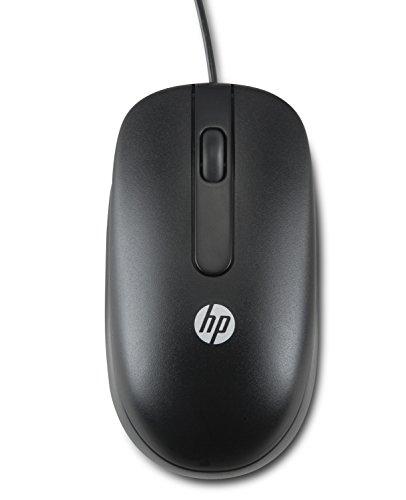 HP QY777AA Maus (800 dpi, USB, 2-Button) schwarz