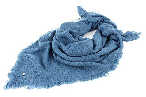 ESPRIT Cosy Flow Square Scarf Blue