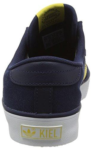 adidas  Kiel, espadrilles de basket-ball homme Bleu (Collegiate Navy/Spring Yellow/Ftwr White)