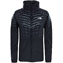 The North Face W Tansa Hybrid Thermoball Chaqueta, Mujer, Negro (Tnf Black), L