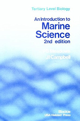 An Introduction to Marine Science (Tertiary Level Biology)