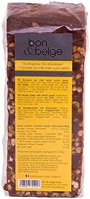 Belgische ontbijtkoek met parelsuiker, voorgesneden schijfjes, artisanaal bereide honingkoek, 250 g