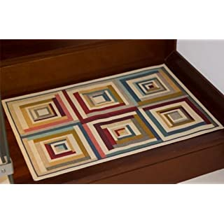 Multi-Purpose Carpet Washable Allure Scala 60x 90cm
